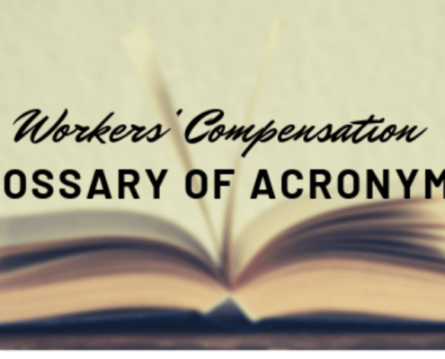 Workers' Compensation Acronyms
