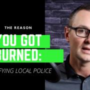 notify local police prior to surveillance private investigator